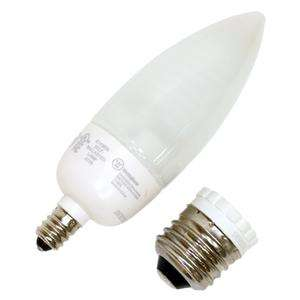 Bulb with Medium Base Adapter (Westinghouse 5DEC/CB/ADP/DIM/27 37916