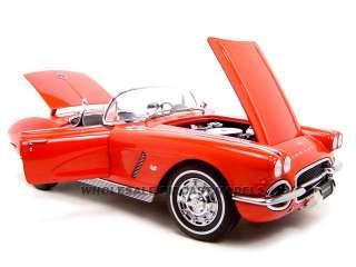 1962 Chevrolet Corvette Diecast Model Red 1 Of 6000 Made 1/18 Die Cast
