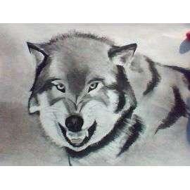 Dibujo De Lobo A Mano (Dina3): compra y venta en PriceMinister