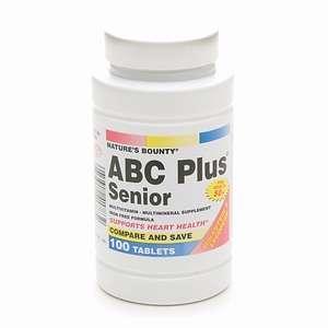 Buy Natures Bounty ABC Plus Senior Tabs 100ct & More  drugstore