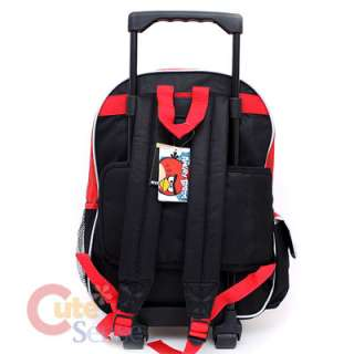 Rovio Angry Brids School Roller Backpack Rolling Lunch Bag 3 Birds 4