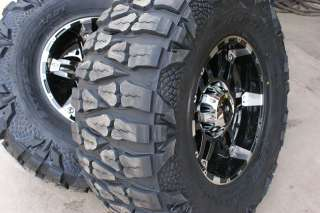 18 Inch XD Spy Wheels Rims Nitto Mud Grappler Tires 35