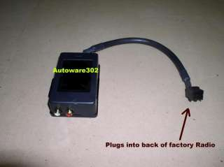 2006 ford focus stereo aux input. Black Bedroom Furniture Sets. Home Design Ideas