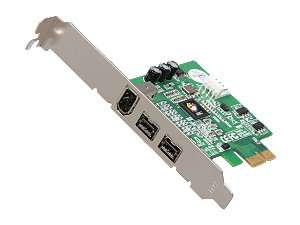 Newegg   SIIG 3 Port FireWire 800 PCIe Card Model NN E38012 S3