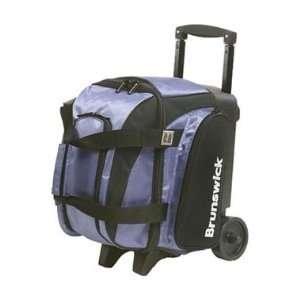 Flash Single Roller Purple / Black Bowling Bag
