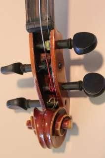 Antique Violin! Labeled Copy of Antonius Stradivarius! Made in Cecho