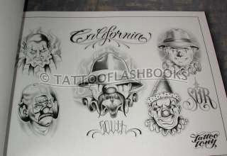 LOWRIDER Tattoo Flash Chicano Jose Lopez Gangster Book