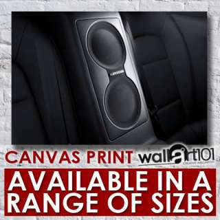 Car Interior Exterior   Audi Bose Speaker High Quality Framed Canvas