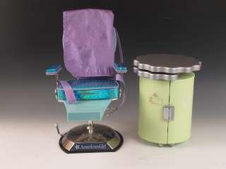 American Girl Doll Hair Salon Chair & Accessory Case
