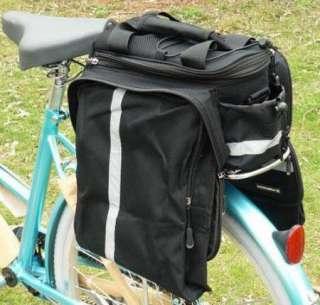 Cycling Bike Travel Bicycle Rear Seat Pannier Bag Pouch