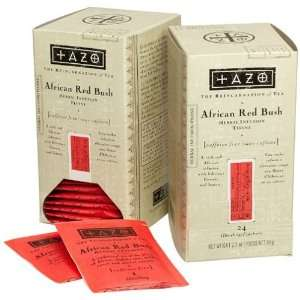 Tazo African Red Bush Herbal Tea Filterbags with Dispenser, Six (6) 24