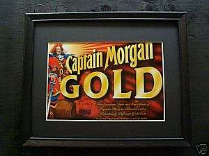 CAPTAIN MORGAN GOLD BEER SIGN #79