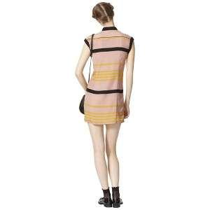 Jason Wu for Target® Sleeveless Pleated Shift Dress in Blush Stripes