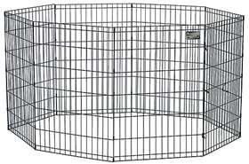 MIDWEST 48 E COAT BLACK EXERCISE PET DOG PEN 558 48