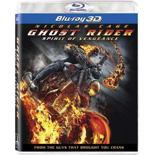 Ghost Rider Spirit Of Vengeance (3D Blu ray + Blu ray + UltraViolet