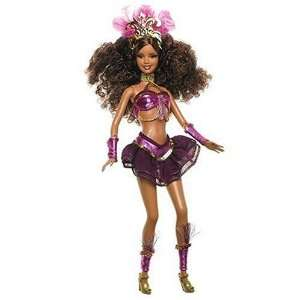 Barbie Collector Dolls Of The World Carnaval Barbie Doll: Toys & Games