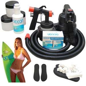Complete Professional Deluxe Turbo Tan HVLP Turbine Tanning System