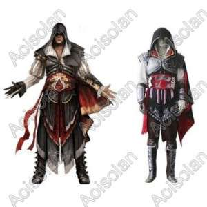 Assassins Creed II Ezio Black Edition Cosplay Costume