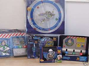 DISNEY STORE BUZZ LIGHTYEAR 6 PIECE BEDROOM SET NEW