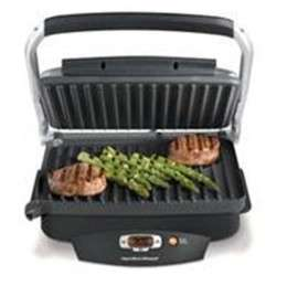 NEW HAMILTON BEACH INDOOR SEARING GRILL BLACK