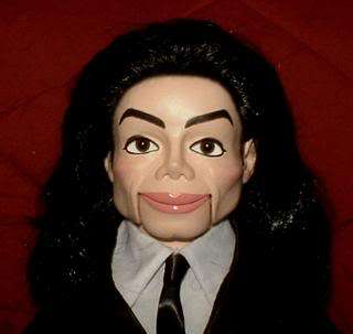 Michael Jackson Tribute Ventriloquist Doll Dummy OOAK