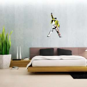 Queen Freddie Mercury Wall Decal 15 x 25 Everything