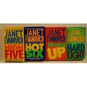 Janet Evanovich Stephanie Plum Series 5 8 (High Five, Hot