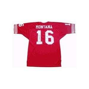 Joe Montana, San Francisco 49ers Autographed Authentic Old