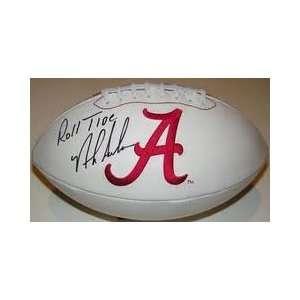 Nick Saban Hand Signed Autographed Alabama Crimson Tide