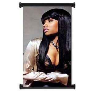 Nicki Minaj Rapper Fabric Wall Scroll Poster (16x30) Inches