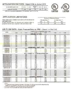 Ton Cased Upflow Evaporator & Heat Pump Coil   Johnson Controls