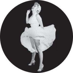 Marilyn Monroe Dress Flies up Pin