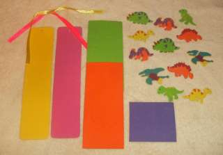 Foam Craft Kit Bookmarks for Boys and Girls, 2 per kit