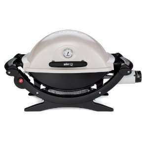 WEBER 516501 Q120 PORTABLE PROPANE GAS GRILL NEW Q 120 G NEW TAILGATE