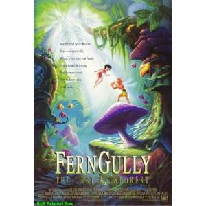 FERN GULLY ORIGINAL MOVIE POSTER TIM CURRY Everything Else