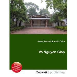 Vo Nguyen Giap Ronald Cohn Jesse Russell Books