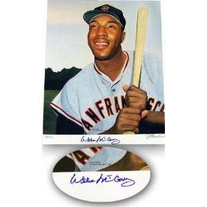 Willie McCovey San Francisco Giants 16x20 Autographed Lithograph  LE