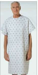 48 NEW HOSPITAL PATIENT GOWN MEDICAL EXAM GOWNS ECONOMY