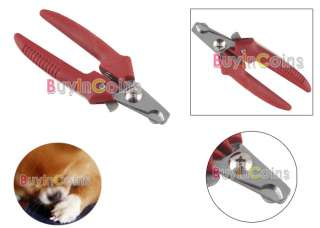 Handle Pet Dog Cat Nail Clippers Scissors Grooming #2
