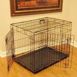 Majestic Double Door Wire Dog Crate 30x21x24