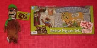 YOGI BEAR BOO BOO DELUXE FIGURE SET w/ DVD BONUS PLUSH