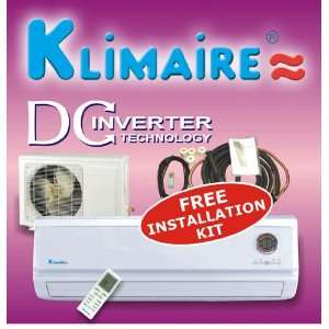 Klimaire 18000 Btu 16 SEER Inverter Mini Split Ductless a