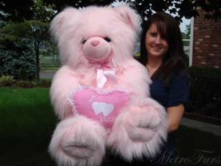 BIG GIANT PLUSH STUFFED TEDDY BEAR VALENTINE DAY GIFT