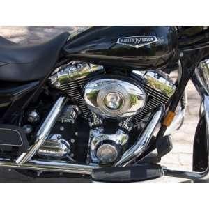 Harley Davidson Motorcycle, Key West, Florida, USA Premium