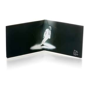 NEW MJ MICHAEL JACKSON PAPER WALLET WALART