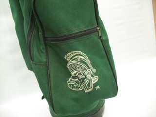 MSU Michigan State Spartans Golf Club Carry Cart Bag