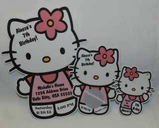 UNIQUE PERSONALIZED HELLO KITTY BIRTHDAY BABY SHOWER PARTY FAVOR