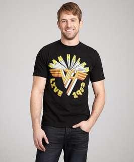 Chaser LA black cotton Van Halen Live crewneck t shirt