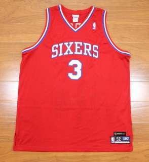 VINTAGE NBA REEBOK HARDWOOD CLASSICS 76ers SIXERS ALLEN IVERSON JERSEY