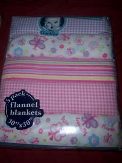 Flannel Receiving Blankets, Baby Shower, Good for Diaper Cakes